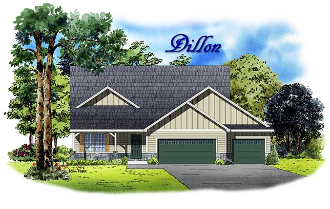 Dillon 4 bedroom model home